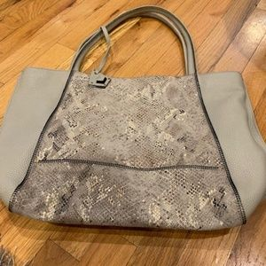Botkier snakeskin & leather tote bag NEW